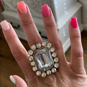Betsy Johnson BLING ring